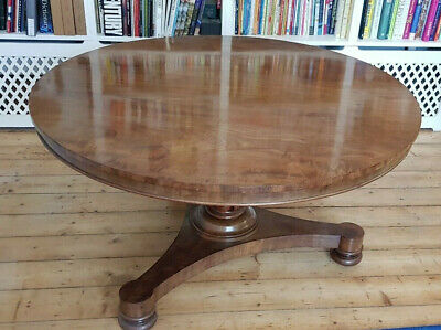 Large Antique Mahogany Dining / Centre Table - PRICE REDUCING