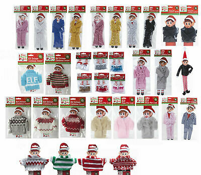 Elf Fashion Clothing Put On The Shelf Ideas Accessories Christmas Dolls Clothes