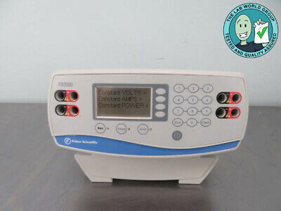 Fisher Scientific FB1000 Power Supply with Warranty SEE VIDEO