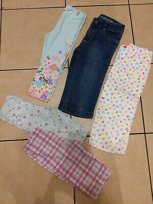 Girls Cropped Jeans Leggings Shorts Bundle 6 yrs