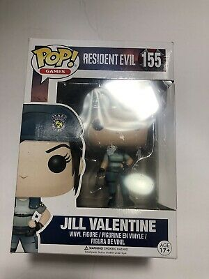 Wow  Funko Pop Collectible Vinyl Figure # 155 Jill Valentine Resident Evil Games