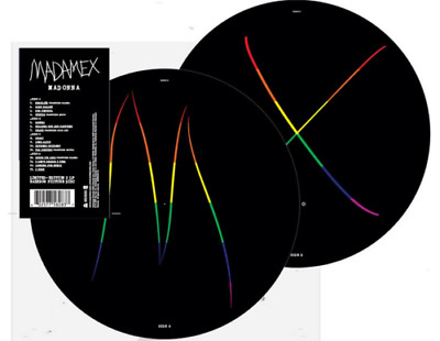 MADONNA - MADAME X RAINBOW Colour 2-LP PRIDE Picture Disc Official Pic Disc