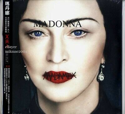 MADONNA MADAME X Taiwan 2-LP STANDARD VINYL Official Sealed with Unique Obi