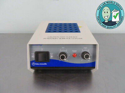 Fisher Scientific Isotemp Heat Block with Warranty SEE VIDEO