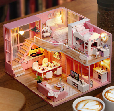 LOL SURPRISE DOLL HOUSE Made with REAL WOOD - Cute Diy Hous for Girl