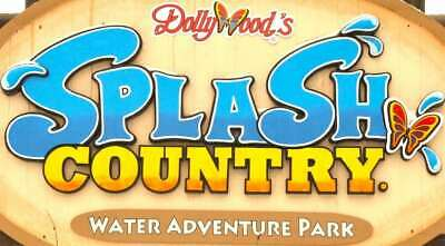Dollywood's Splash Country Tickets In Pigeon Forge, Tn Good Til 9/2/19