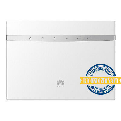 ROUTER HUAWEI B525s-23a 4G LTE CAT.6 -VOIP-WIFI 2.4&5.0 GHZ-4 LAN-RICONDIZIONATO