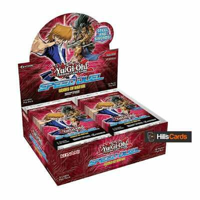 YuGiOh Speed Duel Scars of Battle Sealed Booster Box of 36 Packs | Trading Cards