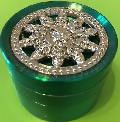 55mm  Grinder Amsterdam Style 4 Part Metal,PLS VIEW MY OTHER ITEMS !!!