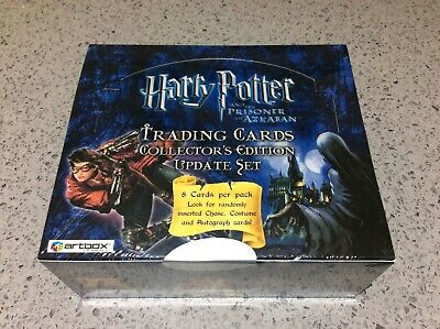 Harry Potter ARTBOX TRADING CARDS Prisoner of Azkaban Update SEALED HOBBY BOX