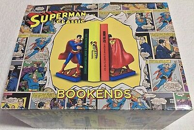 Superman Classic Official Bookends Boxed