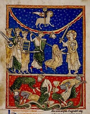 13 th Century Collection of THREE Manuscripts High Quality  RE-PRODUCTION
