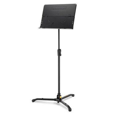 Hercules Tripod Orchestra Stand/Holder w/ Foldable Desk f/ Stage Music Sheet BLK