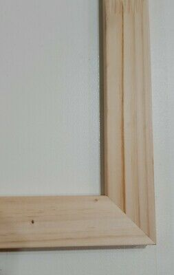 Professional quality pinewood canvas stretcher bars, DIY canvas/ Frame