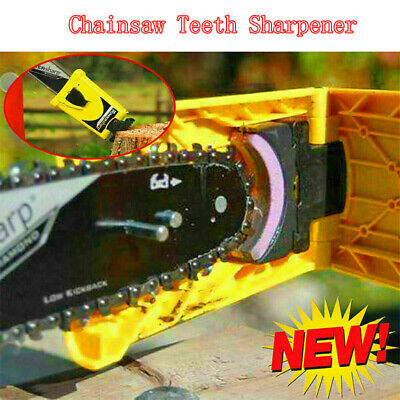 USA Chainsaw Teeth Sharpener - PowerSharp Bar-Mount Chainsaw Chain Sharpening
