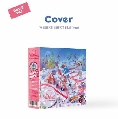 Red Velvet - The Reve Festival Day 2+Guidebook Ver, Sealed, Tracking Num