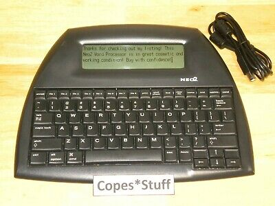 Renaissance Learning Alphasmart Neo2 Neo 2 Portable Word Processor w/ USB Cable