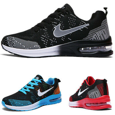 Womens Flyknit Air Cushion Trainers Sports Running Shoes Casual Travel Shoes