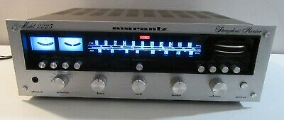 MARANTZ 2225 WORKS PERFECT SERVICED PART RECAPPED WITH LED's