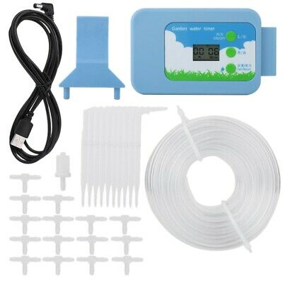 New Home Garden Lcd Watering System Kit Water Timer Automatic Irrigation Co L6J2