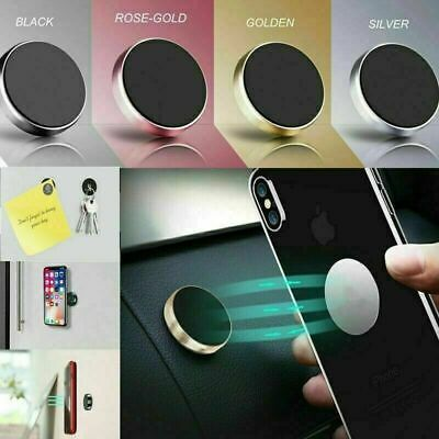 Stick on Universal Magnetic Phone Holder for Car Dashboard Sticker Metal Plate
