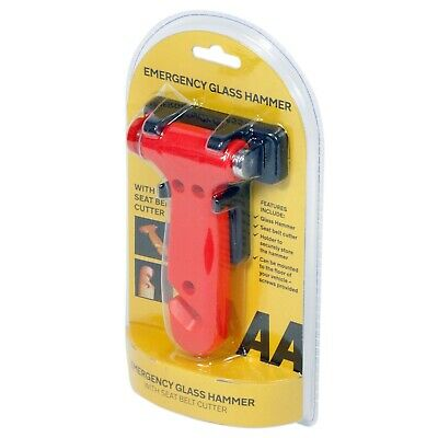 AA Emergency Car Window Glass Hammer
