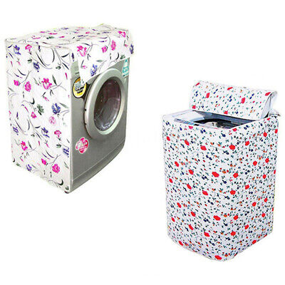 Waterproof Zippered Washing Machine Top Cover Dust Guard Dryer Dustproof P XAJ
