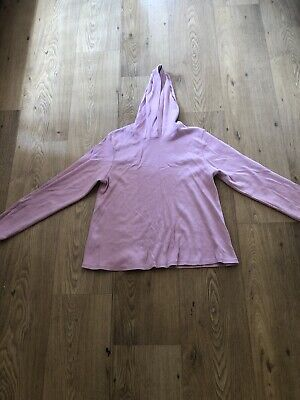 Ladies Hooded Maternity Top Size 14 By Mothercare