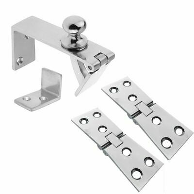 Linx Counter Flap Catch And Hinge Kit For Bars, Polished Chrome