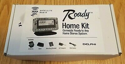 Delphi Roady 2 XM radio bundle, With Roady Home Kit