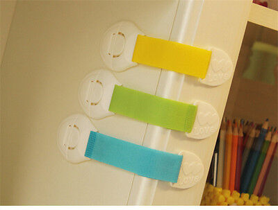 Plastic Drawer Cabinet Locks Baby Safety Protection For Children Child Lock RR