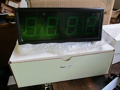 New Dwyer Green Led Extra Large Digital Panel Meter Dpmx-2