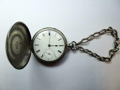 Early Historic Medal Of Honor Recipient American Pocket Watch