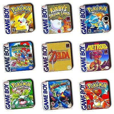 Nintendo Gameboy Games - Box Art Wood Coasters - Selection - Multi-Buy Available