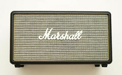Marshall Stanmore Bluetooth Speaker Black Excellent White Logo