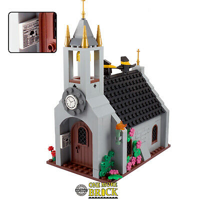 LEGO Church, castle cathedral with spire and accessories - over 270 parts! NEW