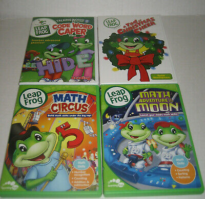 Leapfrog A Tad Of Christmas Cheer.Leap Frog Presents A Tad Of Christmas Cheer Dvd Lot F4