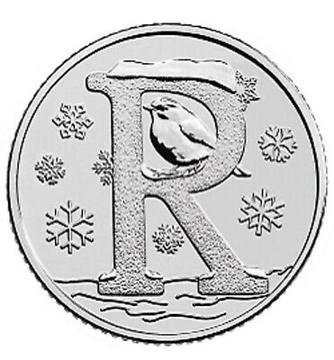 2018 R - Robin Uk 10P Early Strike Uncirculated Coin