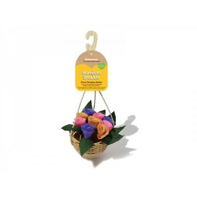 Rosewood Small Animal And Bird Boredom Breaker Floral Hanging Basket