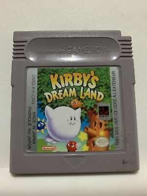 Kirby's Dream Land Cart Only Nintendo Gameboy Authentic Tested Works