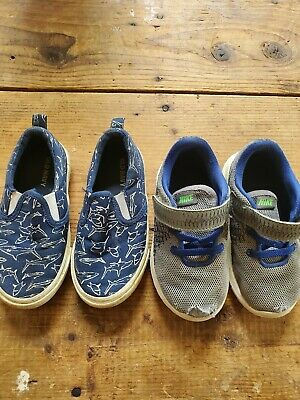 Boys Toddler Size 7 Shoes.  Nike & Old Navy