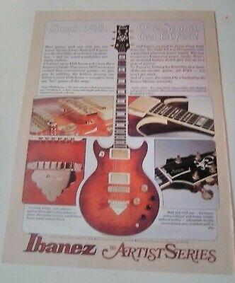 IBANEZ ARTIST GUITAR 1978 ! Natural EXC ! 2617 #191 ... on