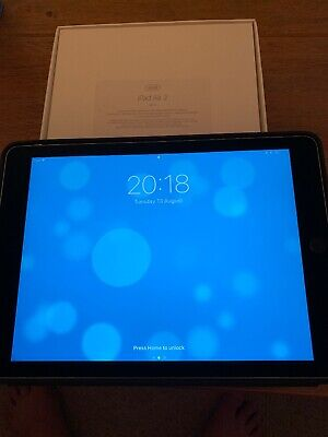 Apple iPad Air 2 32GB, Retina Wi-Fi only 9.7in Space Grey A+ Grade Apple boxed