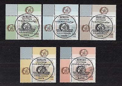 432 ) Germany 1997  Old mills - 5 beautiful Stamps fantastic full stamp