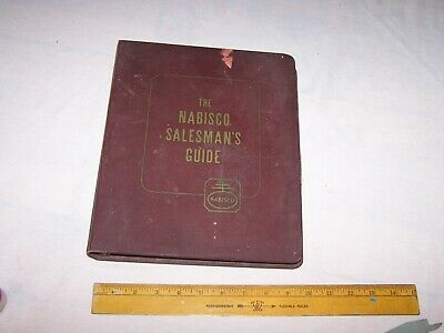 1949 NABISCO SALESMAN'S GUIDE - History - Production - Advertising Merchandising