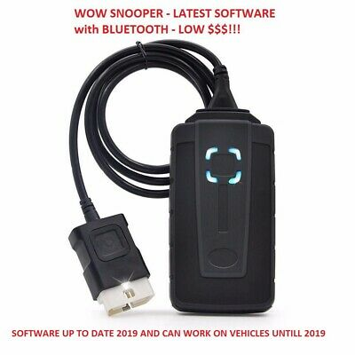 2019 DIAGNOSTIC DUAL SCANNER + GARAGE DATA- CAR TRUCK VAN - VW, AUDI, BMW etc