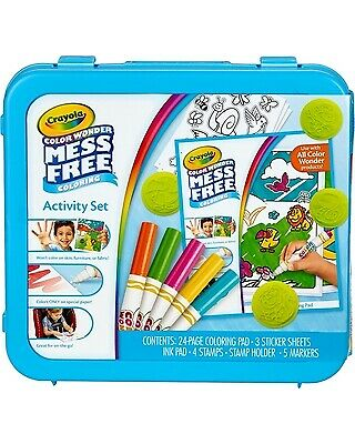 CRAYOLA color wonder mess free colouring activity set brand new