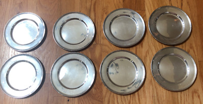 "LOT of 8 pcs WALLACE STERLING 2899 BREAD PLATE ~ 6"" / 650g."