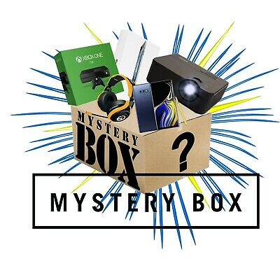 Mystery box New electronics, clothing Toys games, dvds, 10 items or More