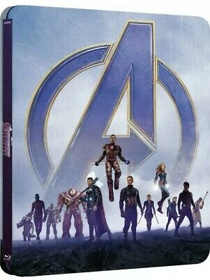 Avengers Endgame Limited Edition Steelbook - Best Buy Exclusive